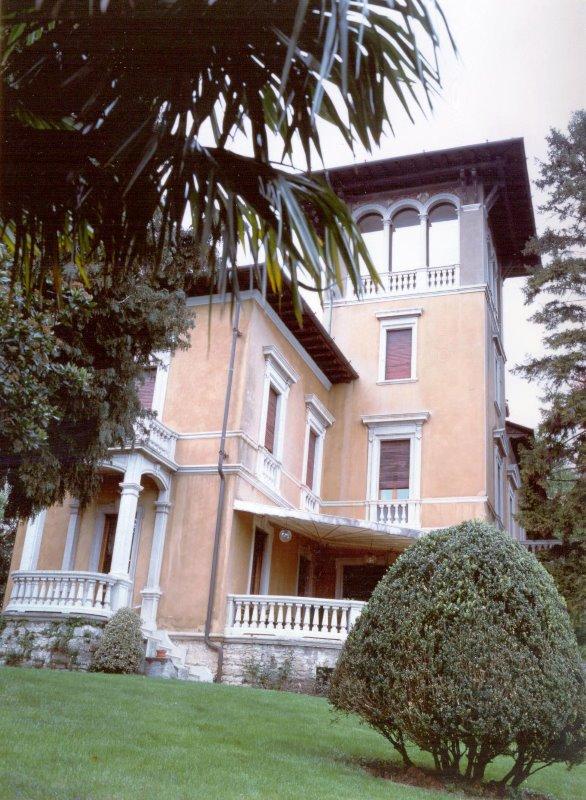 Bergamo alta – prestigiosa villa Liberty