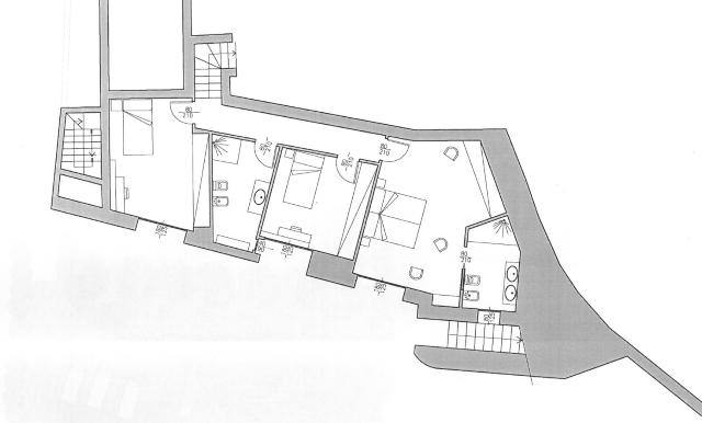 planimetria piano giardino