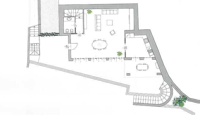 planimetria piano terrazza
