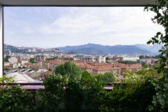 Bergamo quadrilocale con grandi terrazze