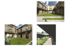 Prestigiosa residenza cielo terra da ristrutturare in Bergamo