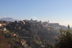 Bergamo - Splendida porzione cielo terra sui colli1