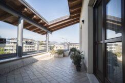 Bergamo, Lallio - splendido attico con terrazze