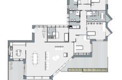 Bergamo Città Alta prestigioso attico pentalocale